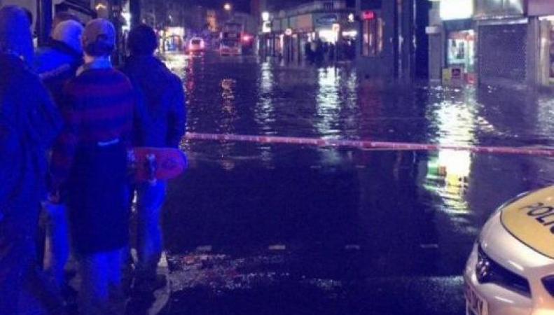 Затопление улиц в Луишем