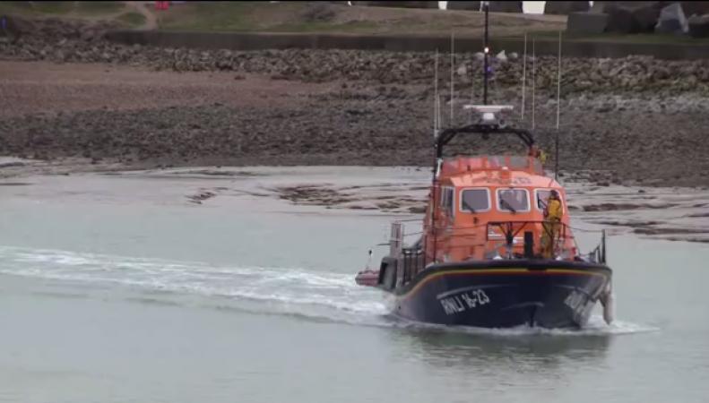 В британских водах выловлена лодка с нелегалами из Албании