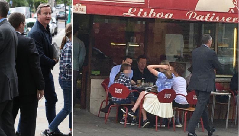 Кэмерон и Осборн заедают стресс от отставки круассанами с кофе