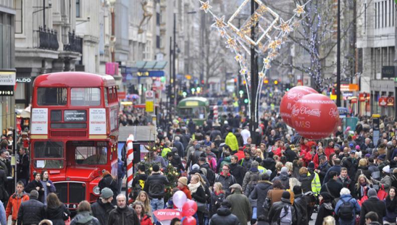 Численность населения Лондона достигла нового максимума