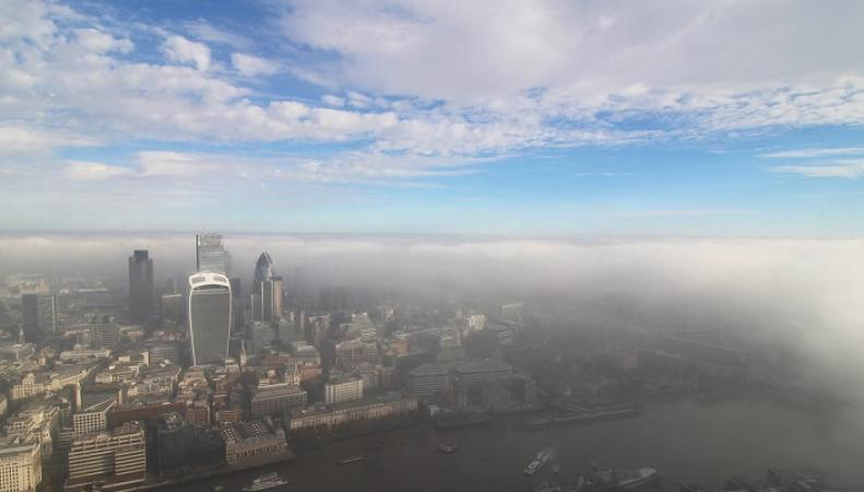 Загрязнение воздуха является причиной преступности в Лондоне