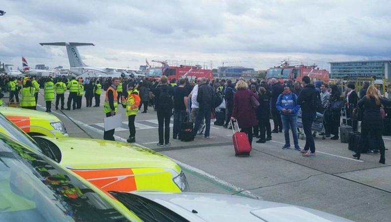 Арестован подозреваемый в химической атаке в аэропорту London City Airport фото:bbc.com