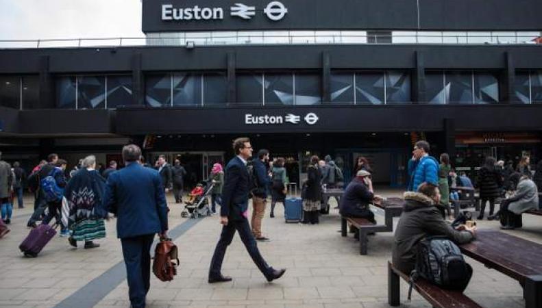 Вокзал Euston закроется на три уикенда