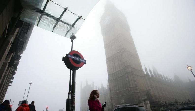 Метеорологи продлили предупреждение о морозном тумане в Лондоне фото:standard.co.uk