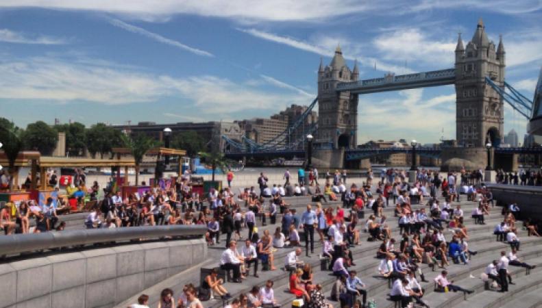 Среднесрочный прогноз погоды в Лондоне: Придет жара – придут и грозы фото:standard.co.uk