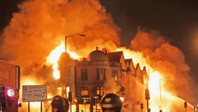 поджоги в Лондоне в августе 2011 года