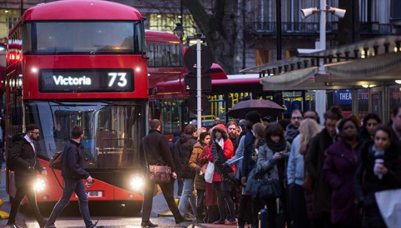 Лондон назван наименее дружественным городом в Великобритании