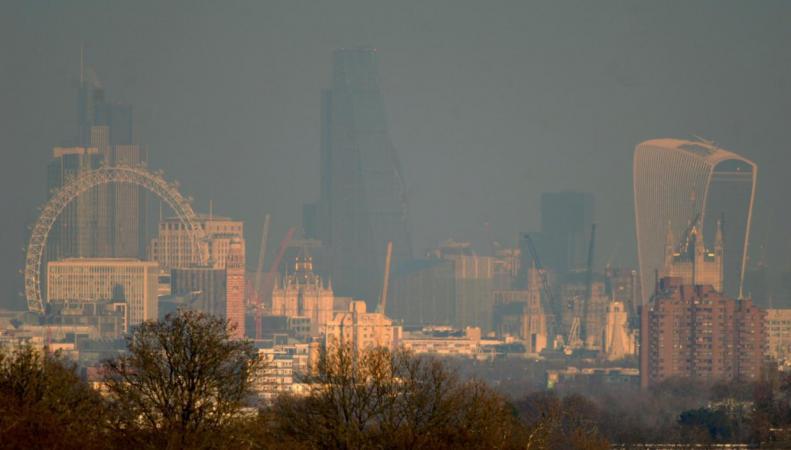 В Лондоне резко ухудшилось качество воздуха фото:standard.co.uk