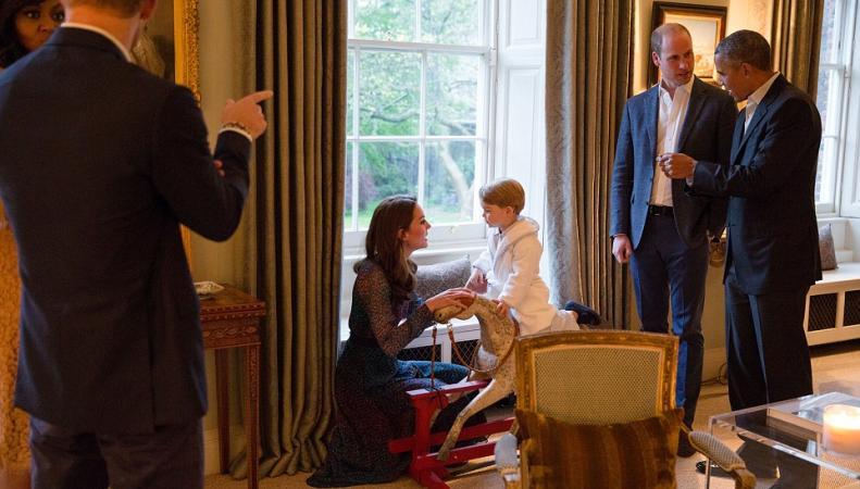 Визит Обамы в Кенсингтонский дворец