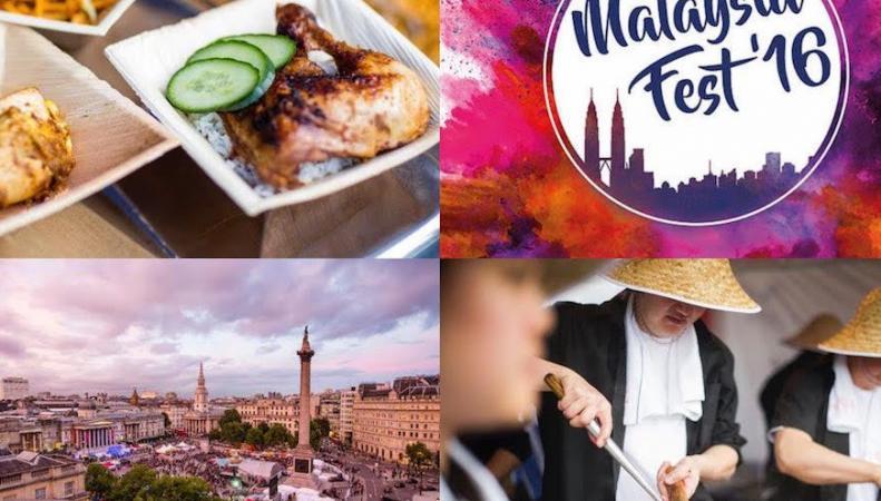 Фестиваль малазийской кухни состоится на Трафальгар-сквер фото:londonist.com