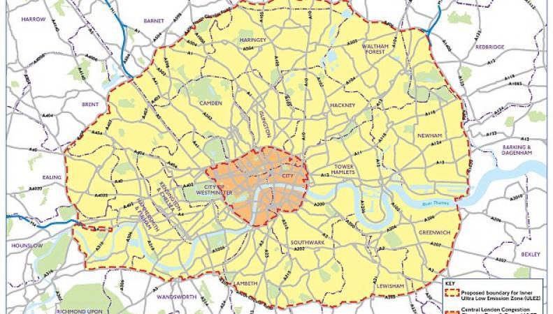 Чистый воздух в центре Лондона будет стоить водителям доЧистый воздух в центре Лондона будет стоить водителям дополнительно 12.50 фунтов в деньполнительно 12.50 фунтов в день
