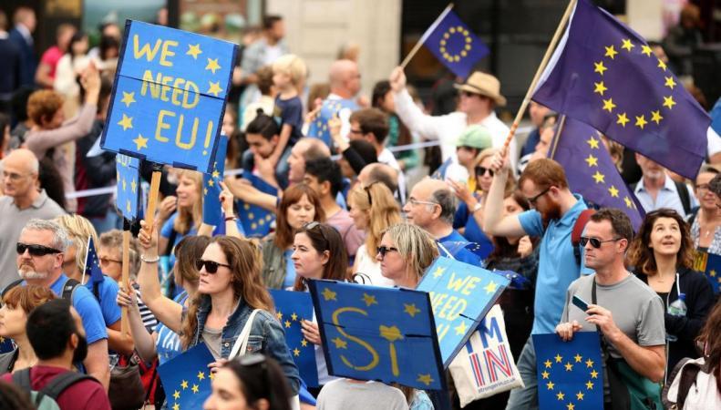 Великобритания отклонила призыв германского политика провести новый референдум по Брекзиту фото:standard.co.uk