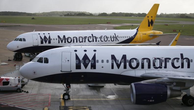 Авиабилеты в Великобритании могут подорожать после банкротства Monarch фото:youtube