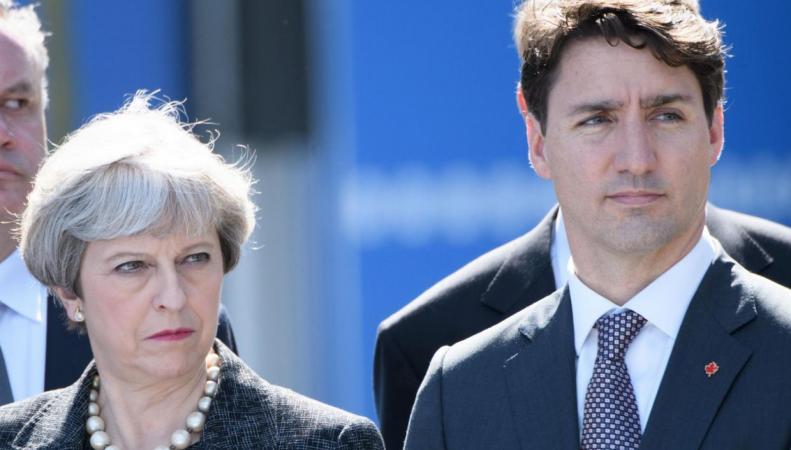 Брекзит ставит под угрозу торговые отношения Великобритании и Канады фото:independent