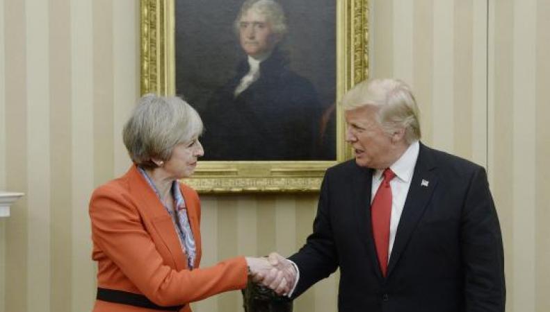 Трамп безоговорочно поддержал Brexit фото:independent