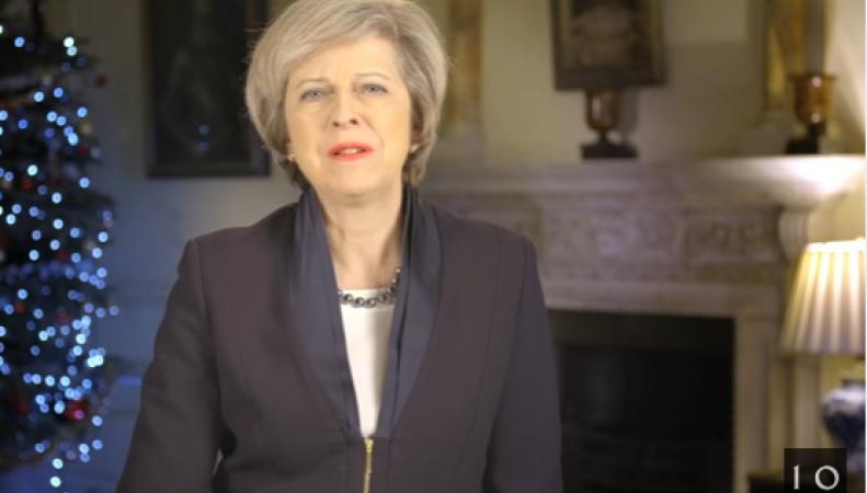 Тереза Мэй выступила с новогодним обращением к британскому народу фото:youtube