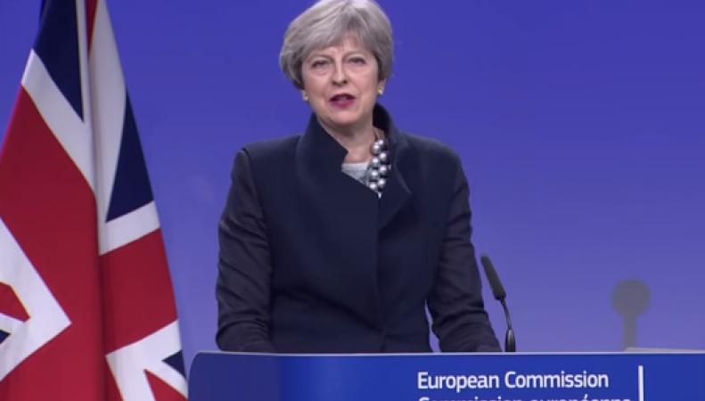 Партия DUP сорвала подписание договора Великобритании и ЕС по границе с Ирландией