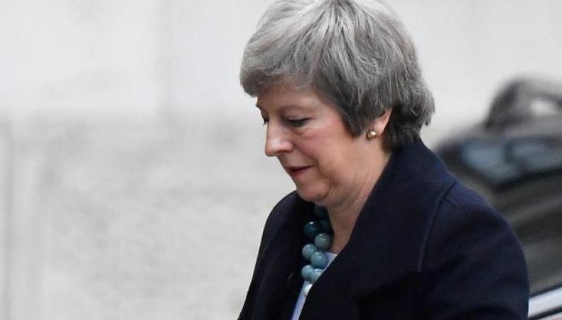 Тереза Мэй отменила голосование по договору о Брекзите в Палате общин