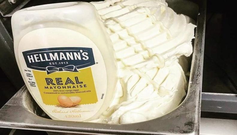 Мороженое со вкусом майонеза можно попробовать в Шотландии
