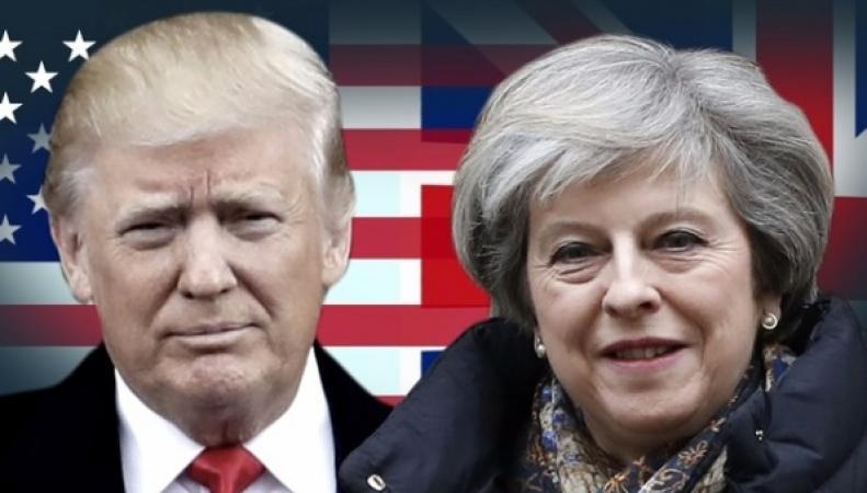 С чем приедет Тереза Мэй на встречу к Дональду Трампу фото:itv.com