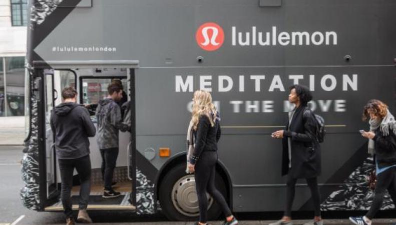 На улицы Лондона выпущен «автобус для медитаций»  фото:standard.co.uk