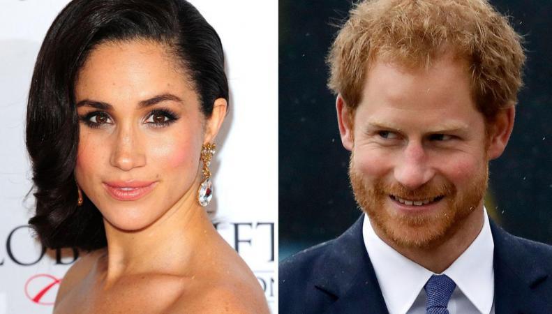 Папарацци впервые подловили принца Гарри вместе с голливудской актрисой фото:standard.co.uk