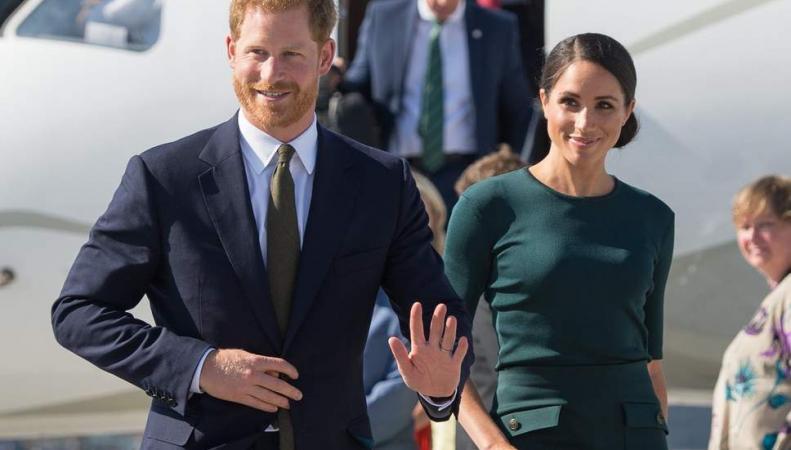 Принц Гарри и Меган отправились в первую зарубежную командировку