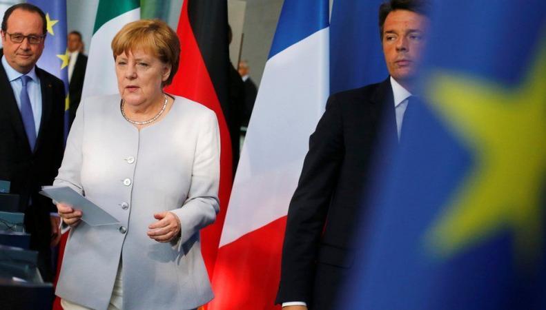 Главы стран Евросоюза отказались вести неформальные переговоры с Великобританией фото:bbc.com