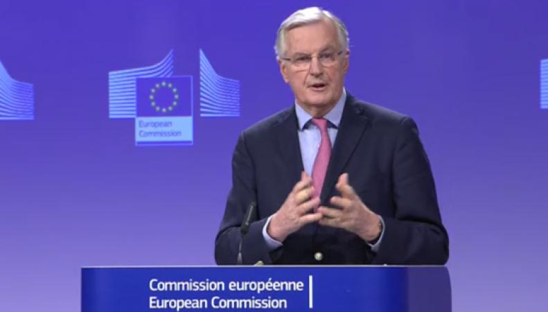 Отношения Лондона и ЕС достигли нового дна на старте переговоров о переходном периоде