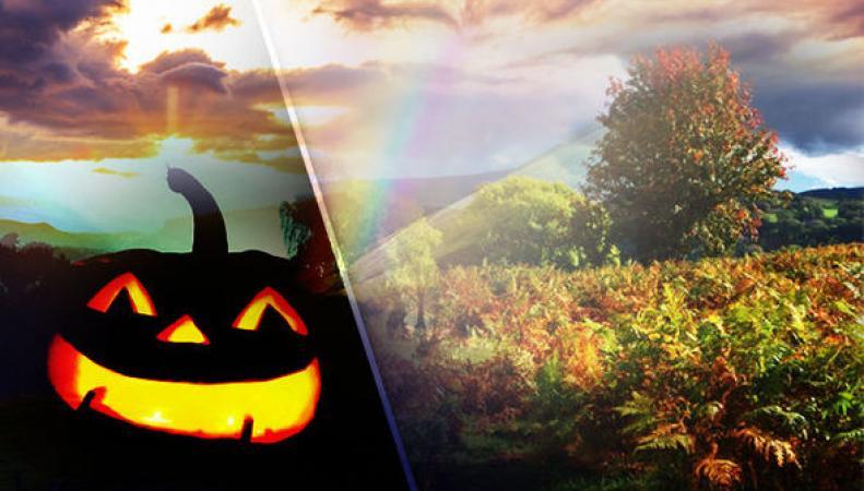Погода в Британии на Хеллоуин