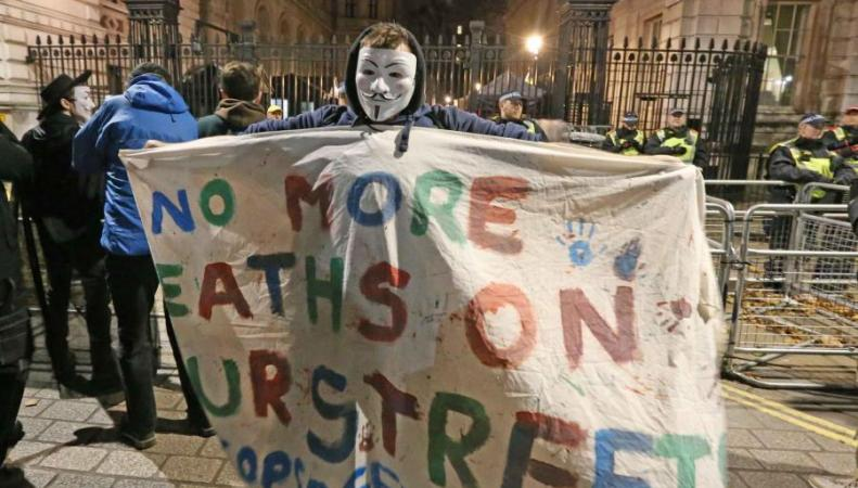 Итоги Марша миллиона масок: двадцать пять арестованных