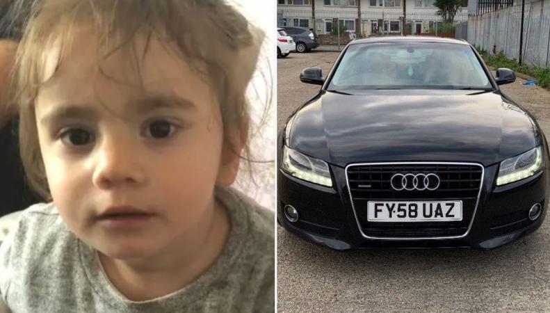 В восточном Лондоне преступник угнал машину вместе с ребенком
