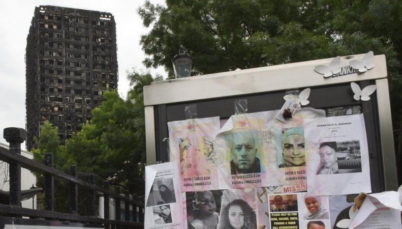 Управа Кенсингтона объявила финансовую и юридическую амнистию погорельцам Grenfell Tower фото:bbc