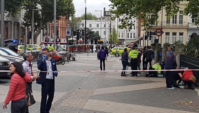 Мэрия Лондона рассмотрит вопрос об установке новых защитных барьеров фото:independent