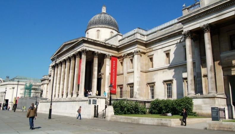 Злоумышленник испортил картину Гейнсборо в Лондонской Национальной галерее
