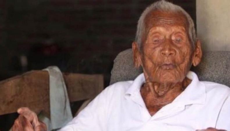 долгожитель, самый старый человек, Индонезия