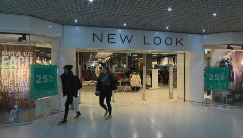 New Look закрывает шестьдесят магазинов по всей Великобритании