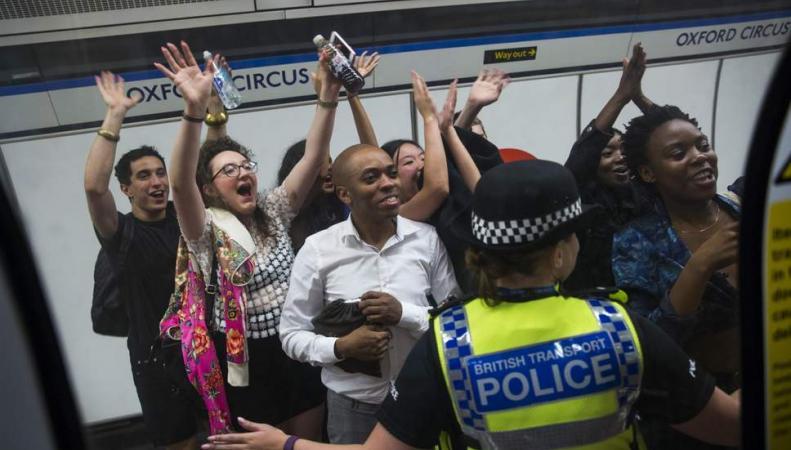 Общественный транспорт в Лондоне станет бесплатным в Новый год