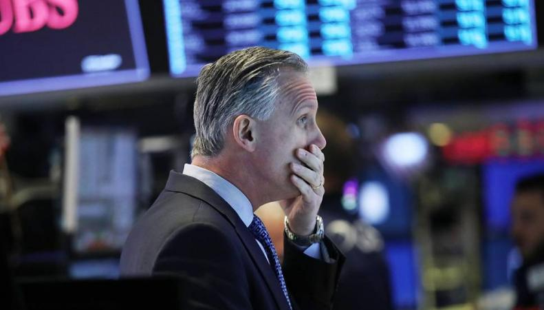 FTSE100 обвалился вслед за индексом Dow Jones