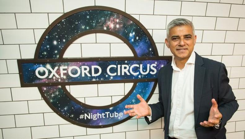 Лондонское ночное метро обзавелось собственной символикой фото:londonist.com