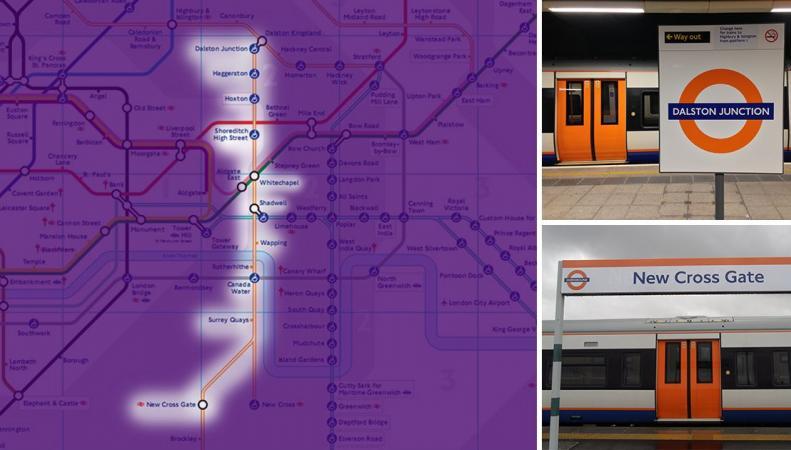 Названа дата перехода на круглосуточный режим работы надземки London Overground