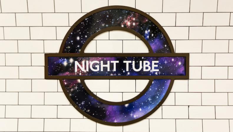 Названа дата запуска третьей линии ночного метро в Лондоне фото:londonist.com
