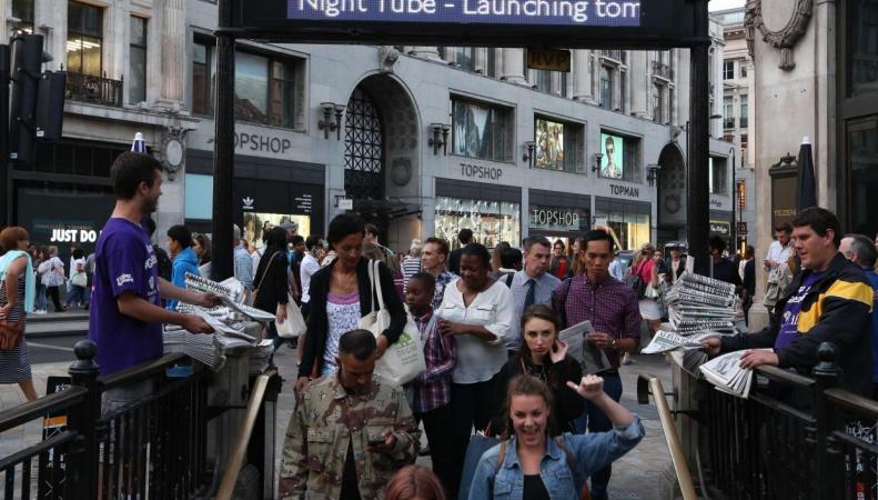 Ночное метро изменит географию цен на недвижимость в Лондоне фото:independent.co.uk