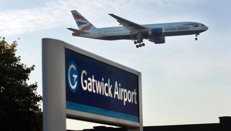 Беспилотник заставил лондонский аэропорт закрыть взлетно-посадочную полосу