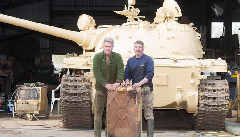 Удивительная находка поразила британского коллекционера военной техники