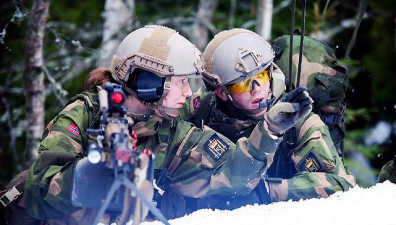 """Норвегия вооружается, опасаясь """"непредсказуемого восточного соседа"""""""