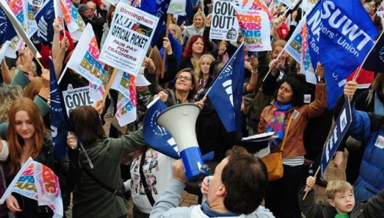 Учителя британских школ согласовали дату профсоюзной забастовки фото:bbc.com