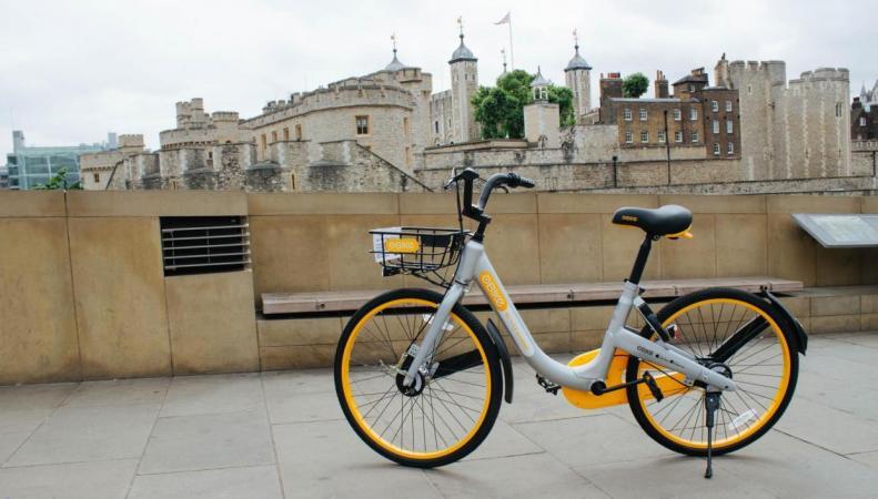 В Лондоне появился альтернативный велопрокат фото:standard.co.uk