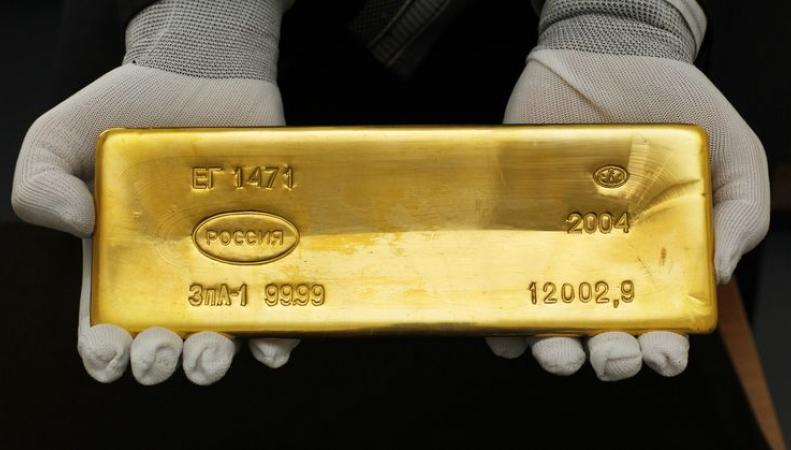 Россия обошла Китай по запасам золота