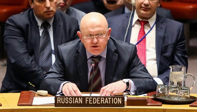 """Постпред России в ООН рассказал, зачем Западу нужен """"фейк о химатаке в Думе"""""""